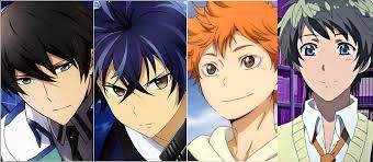anime characters names male. Wonderful Anime Spring2014_guys Throughout Anime Characters Names Male H