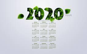 2020 Calendar Wallpapers - Top Free ...