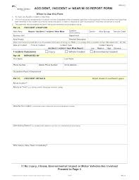 Technical Incident Report Template
