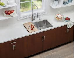 Sink With Cutting Board Faucetcom Lkcbf17hw In Wood By Elkay