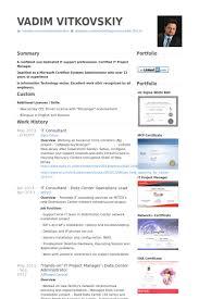it consultant resume samples sample bilingual consultant resume