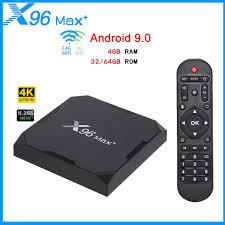 X96 Max Plus Smart TV Box Android9.0 4GB 32GB 64GB Quad core 64 bit Set Top  Box Support Bluetooth 8K Media Player 2.4G/5G WiFi|Set-top Boxes