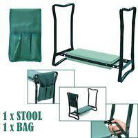 padded plastic garden kneeler and seat