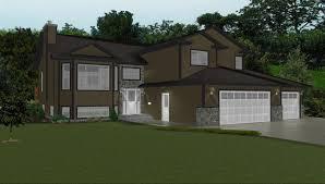 modified bi level home plans inspirational bi level garage additions of modified bi level home plans