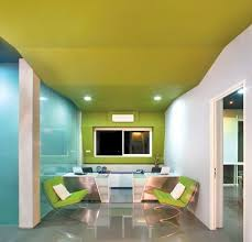 cool office colors. Bright Office Colours And Communal Collaborative Spaces Are Trending For Today\u0027s Designs - What Do You Think? Cool Colors G