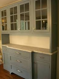 kitchen hutch built in built in hutch gray painted built in hutch w marble or take
