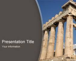 Greek Templates Greece Powerpoint Templates