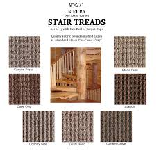 carpet stair treads. sierra ii dog assist carpet stair treads o