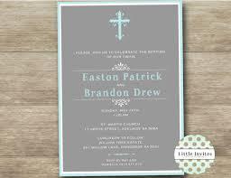 Twin Baptism Invitations Baptism Invitations For Twins Twins Baptism Invitation Twin Girls