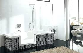 walk in bath shower combo excellent bathtubs with tubs and showers modern bathtub kohler cost tub bathtubs idea walk in tub how much does a cost kohler
