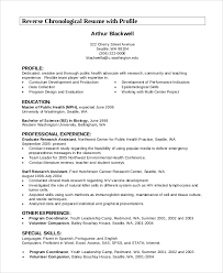 7+ Resume Profile Examples | Sample Templates