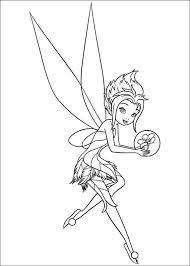 Tinkerbell Het Geheim Van De Vleugels Kleurplaten 9