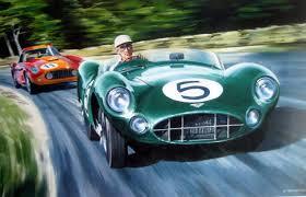 Art Lithograph Le Mans 1959 Aston Martin Dbr1 Caroll Catawiki