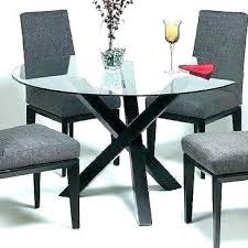 glass top dining table set 4 chairs round glass dining set glass top dining room tables
