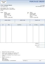 purchase order template microsoft word purchase order with blue gradient design