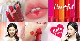 super cute heart shaped lipstick
