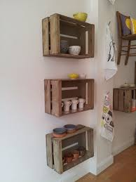 Decorating With Wooden Boxes Decorate Creatively with Old Wooden Crates Wooden crates Crates 1