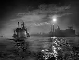 A. Aubrey Bodine: Journey's End 1950. Source | Photo, Amazing photography,  Photography