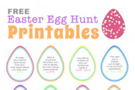 easter egg hunt template free easter egg hunt printable clues cool easter egg hunt ideas