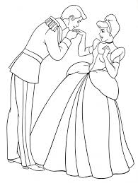 cinderella coloring pages fresh walt disney coloring pages prince charming princess cinderella