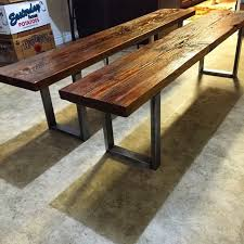 urban industrial furniture. industrial bench reclaimed wood dining and steel entry urban furniture u