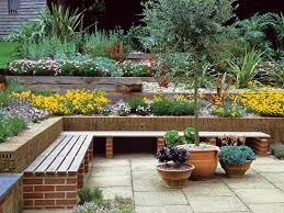 Small Picture Lawn Garden Backyard Patio Terraced Garden Design Ideas With