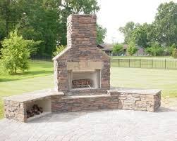 nice decoration outdoor brick fireplace winning outdoor fireplace amp fire pit installation in cornelius charlotte