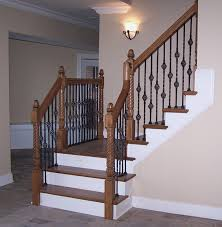 iron baers whole decorative metal baer for staircase individual 50stair m how to replace wood baers