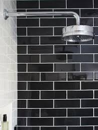 black subway tiles - Google Search
