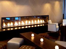 popular indoor gas fireplace design