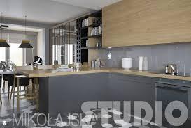 kuchnia drewno zdjęcie od mikoŁajskastudio kuchnia styl industrialny mikoŁajskastudio