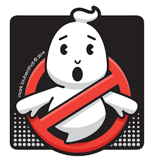Scribble Nerds: Chibi Ghostbusters Logo!