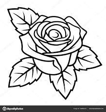 роуз эскиз 004 векторное изображение Alexeypushkin 182863312