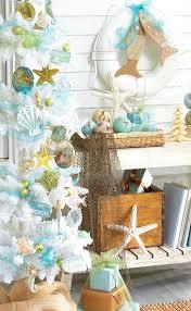 White Beach Christmas Tree