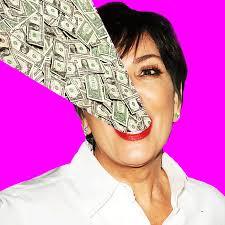 new trending gif on giphy money kardashian kris jenner fame dollar fredmade follow me