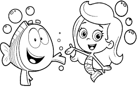 Small Picture Printable Bubble Guppies Coloring Pages Cartoon Coloring pages