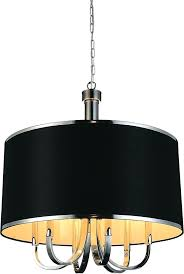 crystal world 9848p24 6 601 black orchid 6 light drum shade chandelier in chrome black drum shade pendant lighting black drum shade pendant chandelier black