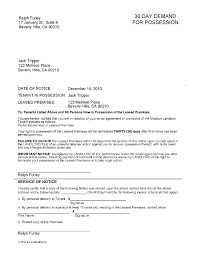 30 day eviction notice forms printable sample 30 day eviction notice form real estate forms