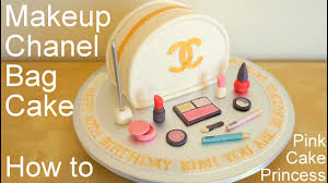 chanel bag makeup cake for mother s day how to by pink cake princess