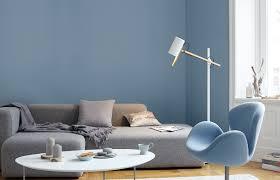 Premium-Wandfarbe. Blau, graublau: Alpina Feine Farben RUHE DES ...