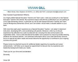 Resume Examples Of Cover Letters For Teachers Best Inspiration