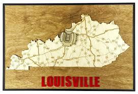 Papa John S Cardinal Stadium Seating Chart State Shape Art Kentucky Louisville Papa Johns Cardinal Stadium