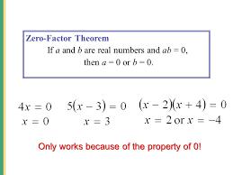 4 zero factor
