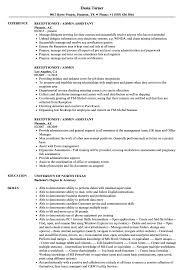 Sample Resume Admin Receptionist Admin Resume Samples Velvet Jobs