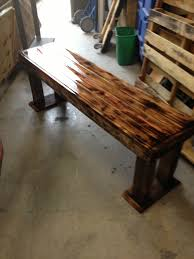 reclaimed wood pallet bench. Pallet Bench. Reclaimed Wood Bench N