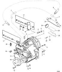 Mercruiser engine parts diagram mie 5 7l efi mie tbi gen