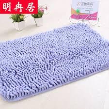 huge chenille bath mats doormat mat slip absorbent kitchen bathroom bathroom bedroom floor mats