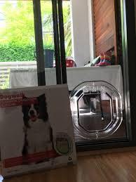medium dog door for glass single double glazing