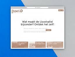 Multidisciplinary Design Firms Identity Publication And Database Website For Ijsselid