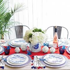 Nautical Table Settings Place Settings With Personality Coastal Living